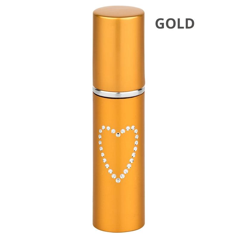 Pfefferspray Lippenstift Gold
