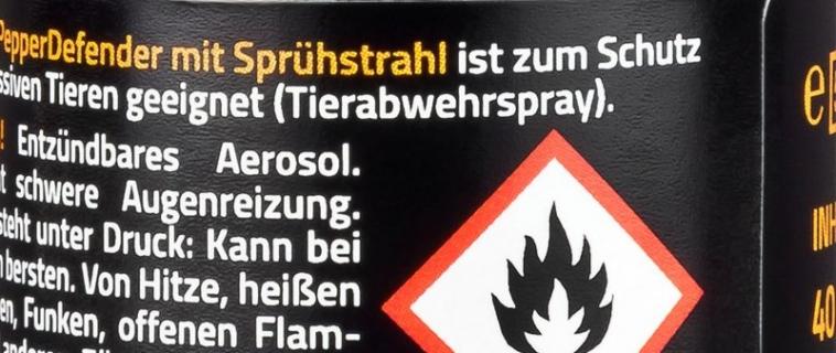 Ist Pfefferspray in Deutschland verboten?